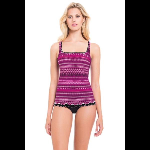 Gottex Profile Adj. Straps Tankini Top -Dress Size