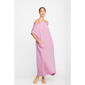 Mikoh Swimwear Mikoh Mirakami Off The Shoulder Maxi Dress