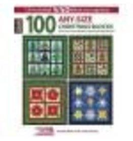100 Any-Size Christmas Blocks and CD