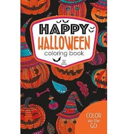 Leisure Arts Happy Halloween Coloring Book