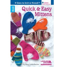 Leisure Arts Leisure Arts Booklet - Quick and Easy Mittens