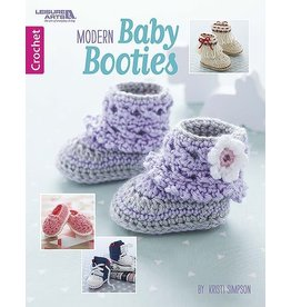 Leisure Arts Leisure Arts Booklet - Modern Baby Booties