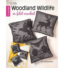 Leisure Arts Leisure Arts Booklet - Woodland Wildlife in Filet Crochet