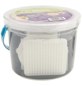 Perler Fused Bead Bucket Kit Glow-In-The-Dark
