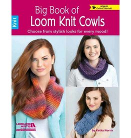 Leisure Arts Leisure Arts Booklet - Big Book of Loom Knit Cowls