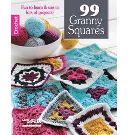 Leisure Arts Leisure Arts Booklet - 99 Granny Squares