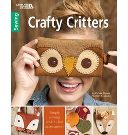 Leisure Arts Leisure Arts Booklet - Crafty Critters