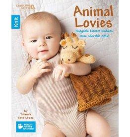 Leisure Arts Leisure Arts Booklet - Knit Animal Lovies