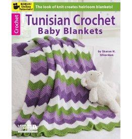 Leisure Arts Booklet - Tunisian Crochet Baby Blanket