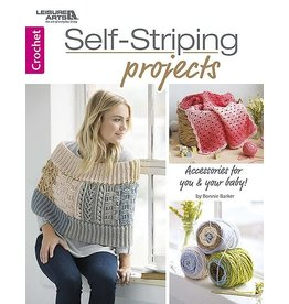 Leisure Arts Booklet - Self Striping Projects