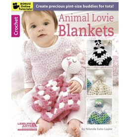 Leisure Arts Booklet - Animal Lovie Blankets