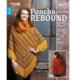 Leisure Arts Booklet - Knit Poncho Rebound