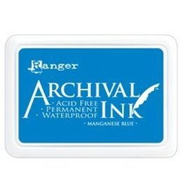 Ranger Archival Ink Pads by Ranger 1 Manganese Blue