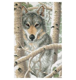 Dimensions Wintry Wolf