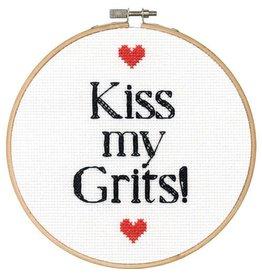 "Dimensions Cross Stitch ""Kiss My Grits"""