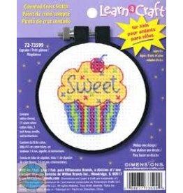 """Dimensions Cross Stitch """"Cupcake"""""""