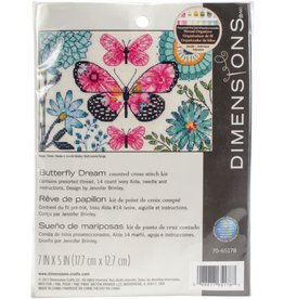 """Dimensions Counted Cross Stitch """"Butterfly Dream"""""""