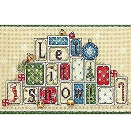 """Dimensions Counted Cross Stitch """"Let it Snow"""""""