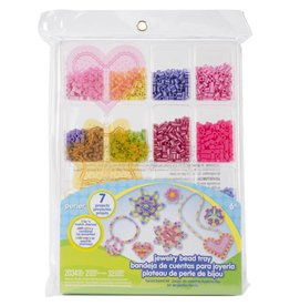 Perler Fused Bead Kit Jewelry Bead Tray