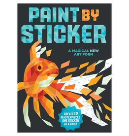 Paint By Sticker Book