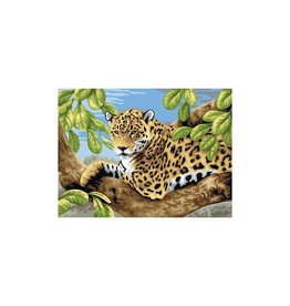 R&L Painting by Numbers - Leopard in Tree