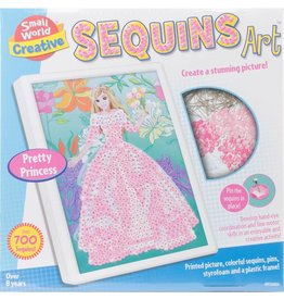 Small World Creative Sequins Art Pretty Princess