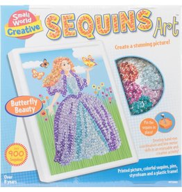 Small World Creative Sequins Art Butterfly Beauty