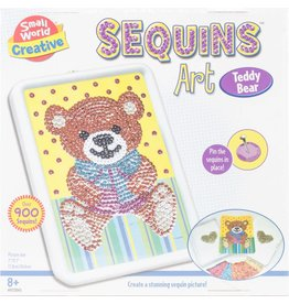 Small World Creative Sequins Art Teddy Bear