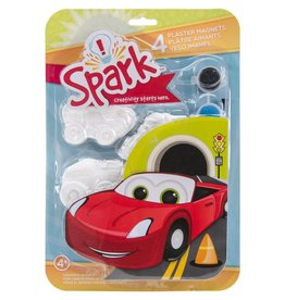 Spark Plaster Magnets Cars
