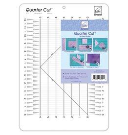 Quarter Cut Slotted Ruler
