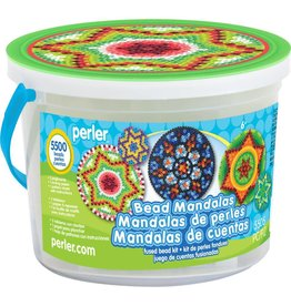 Perler Fused Bead Bucket Kit Bead Mandalas