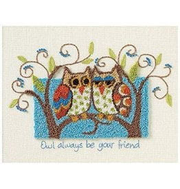 Dimensions Dimensions Punch Needle Kit Owl Always Be Your Friend