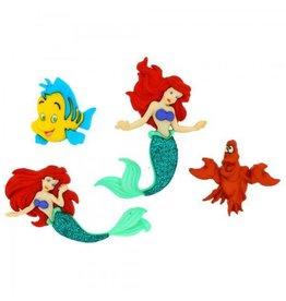 Dress It Up Disney Dress up Buttons Set 1 Disney The Little Mermaid
