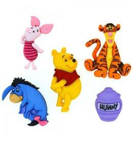 Dress It Up Disney Dress up Buttons Set 2 Disney Winnie The Pooh