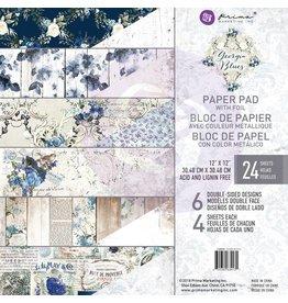 12X12 Paper Pad, Georgia Blues