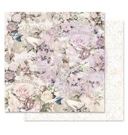 12X12 Patterned Paper, Lavender Frost - Royal Bidding