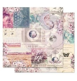 12X12 Patterned Paper, Moon Child - Galactic Love
