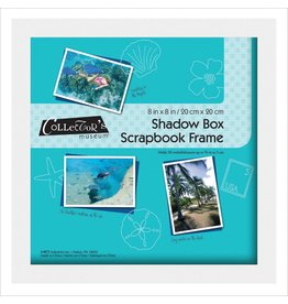 "MBI Shadow Box Frame 8""X8"" White"