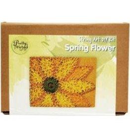 Pretty Twisted String Art DIY Kit Spring Flower