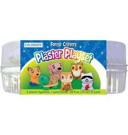 Plaster Playset Forest Critters