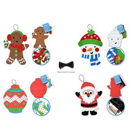 DIY Foam-Fun Large Ornament Kit  - Holiday