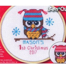 """Dimensions Cross Stitch """"Baby's First Christmas"""""""