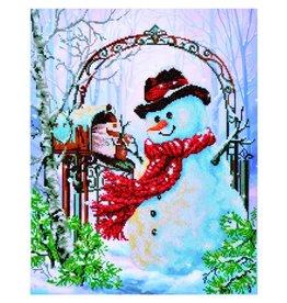 """Diamond Dotz Diamond Embroidery Facet Art Kit 50 x 62cm (19.7"""" x 24.4"""") - Father Snow"""