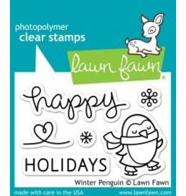 Treasuremart Photopolymer Clear Stamps, Winter Penguin