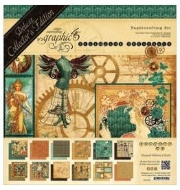 12X12 Deluxe Collection Pack, Steampunk Debutante
