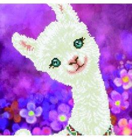 "Diamond Dotz Diamond Embroidery Facet Art Kit 12.6""X16.5"" Lulu Llama"