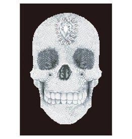 "Diamond Dotz Diamond Embroidery Facet Art Kit 16.5""X20.5"" - Crystal Skull"
