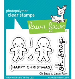 Treasuremart Clear stamp Set, Oh Snap