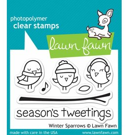 Treasuremart Clear stamp Set, Winter Sparrows