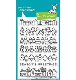 Treasuremart Clear stamp Set, Simply Celebrate Winter